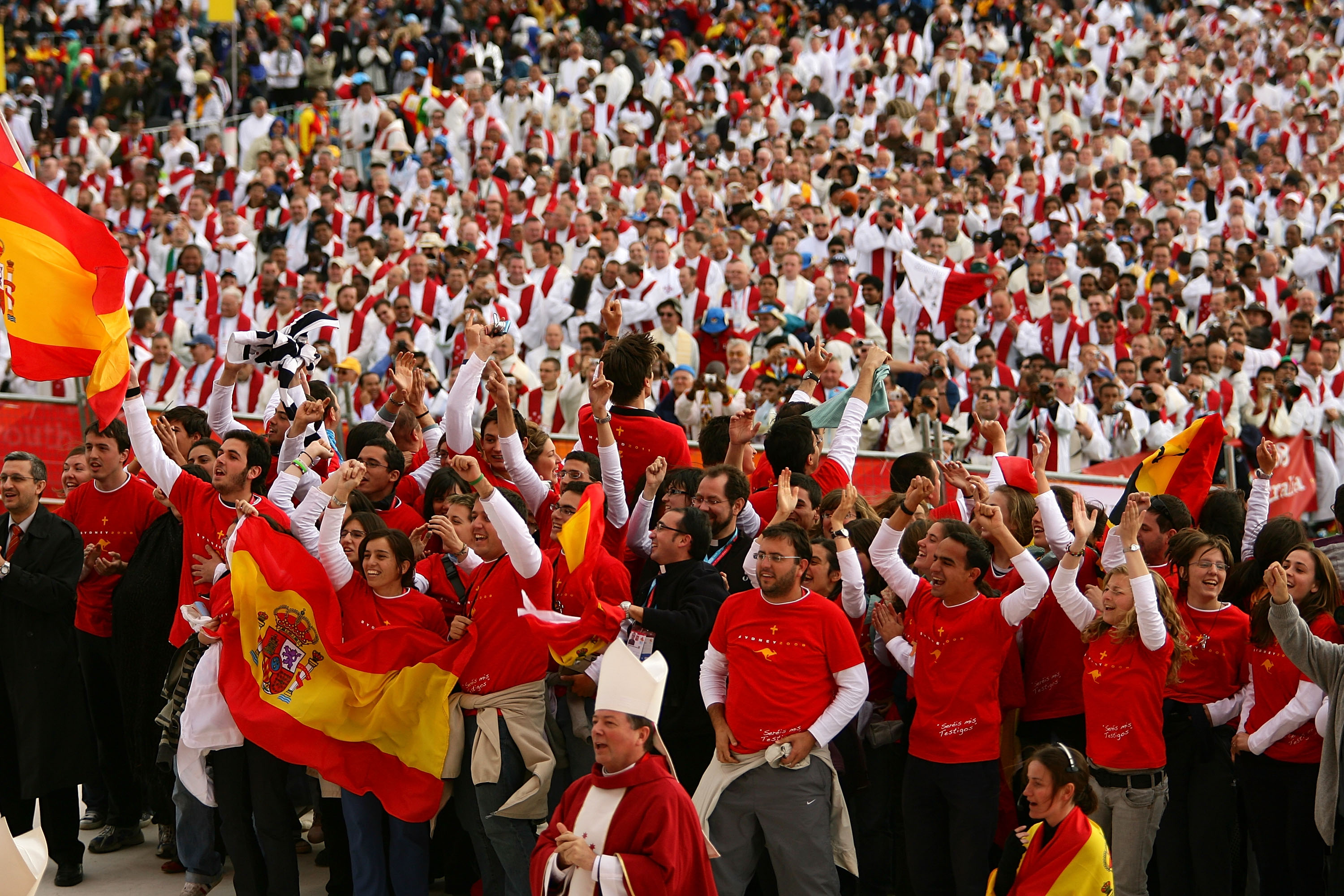 Photo de jeunes - World Youth Day 2008