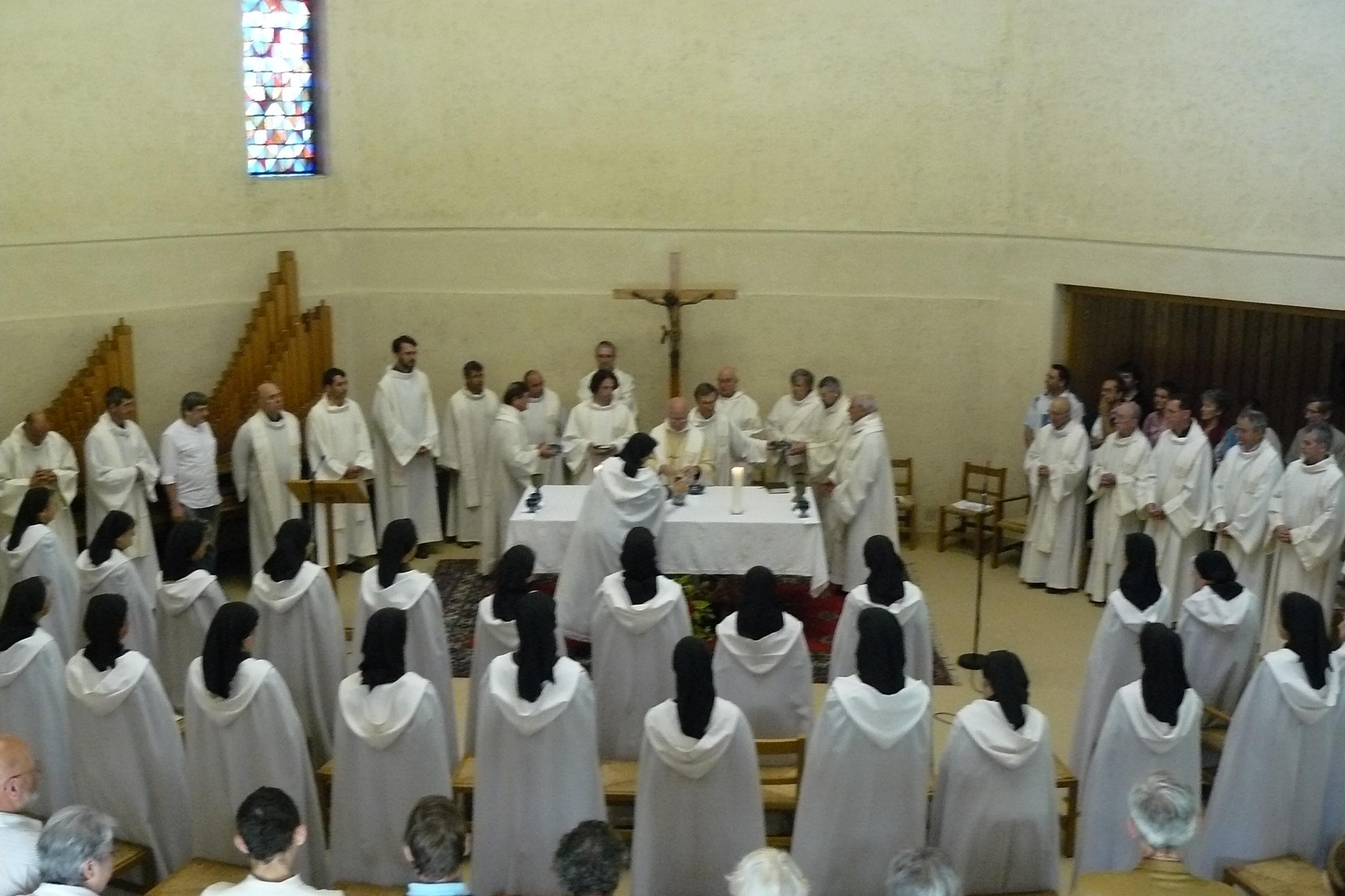 Célébration au Carmel de la Paix