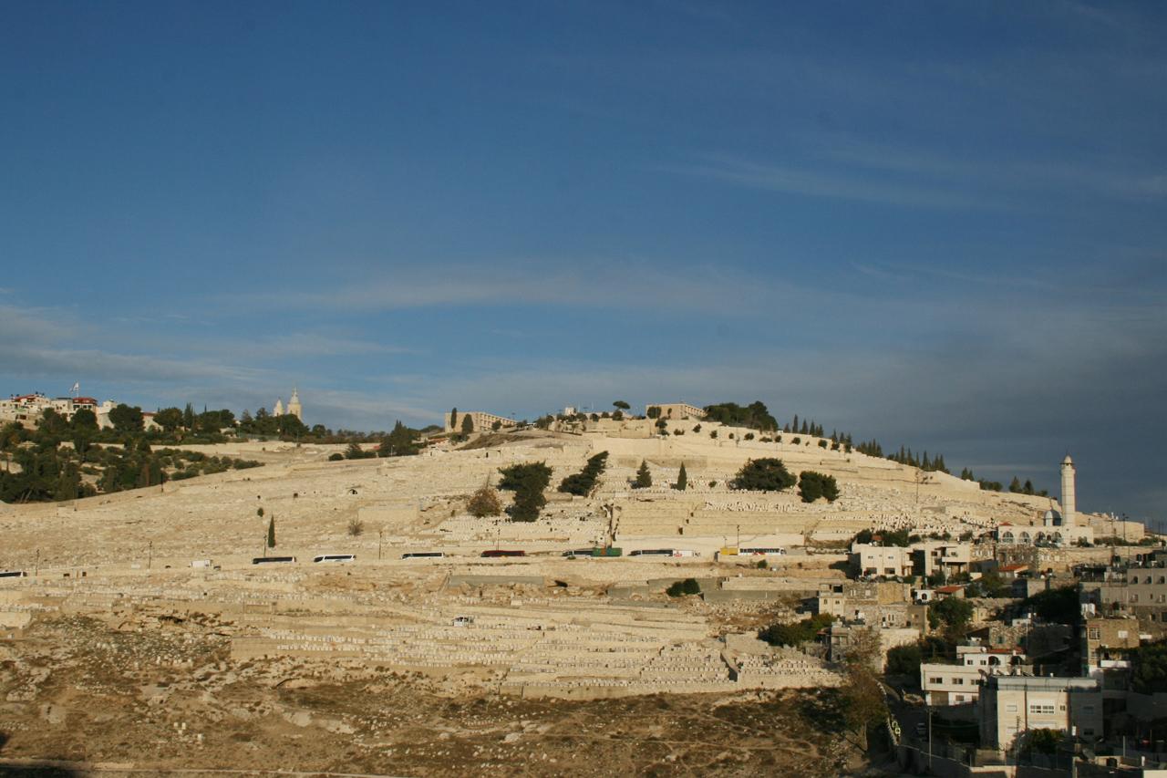 Le Mont des oliviers à Jérusalem - © Remi Jouan