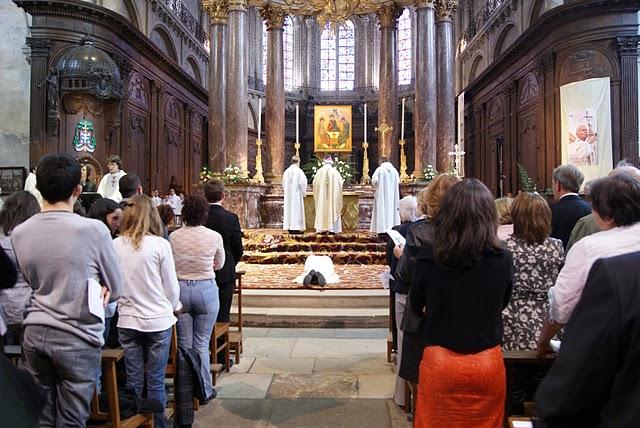 Ordination presbytérale de Pierre-Etienne Grislin