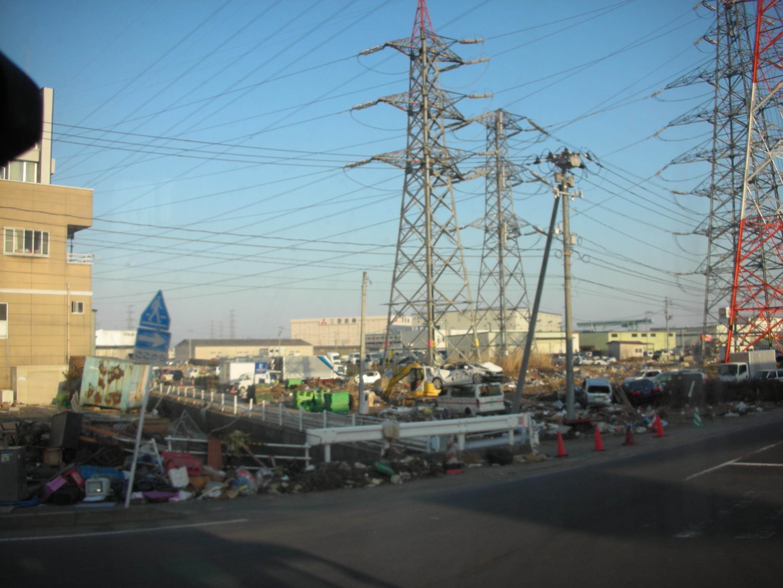 Shiogama après le séisme