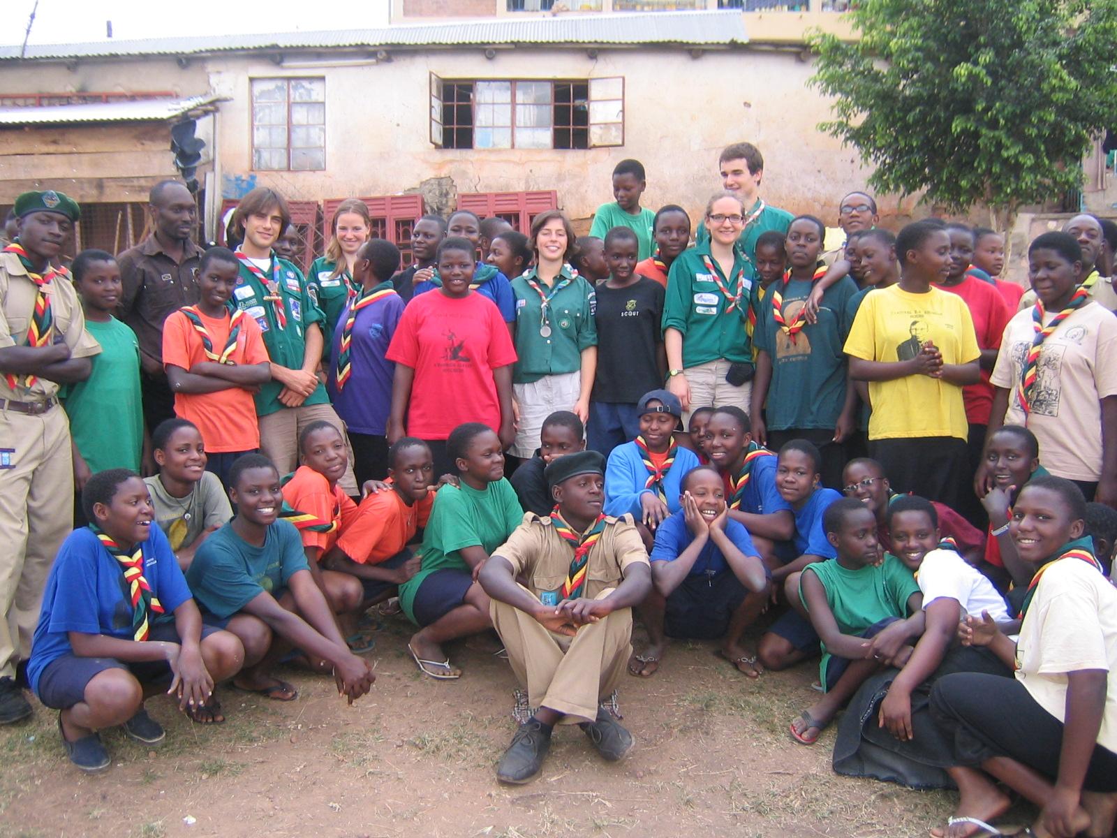 Scoutisme en Ouganda