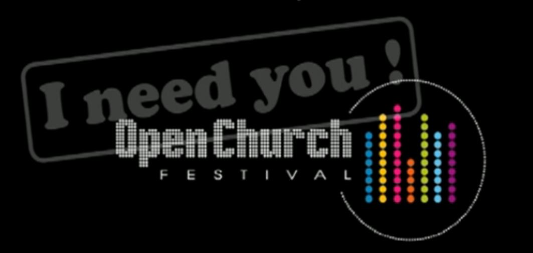 Logo du festival Open Church à Lyon