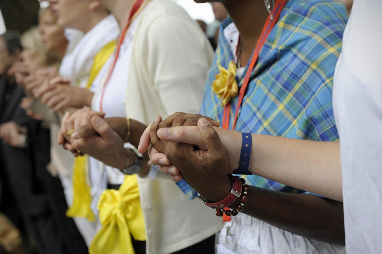 Pèlerinage National à Lourdes / Corinne MERCIER/CIRIC