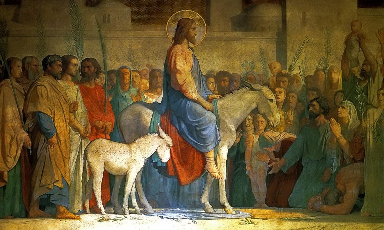 Entrée du Christ dans Jérusalem par Hippolyte Flandrin