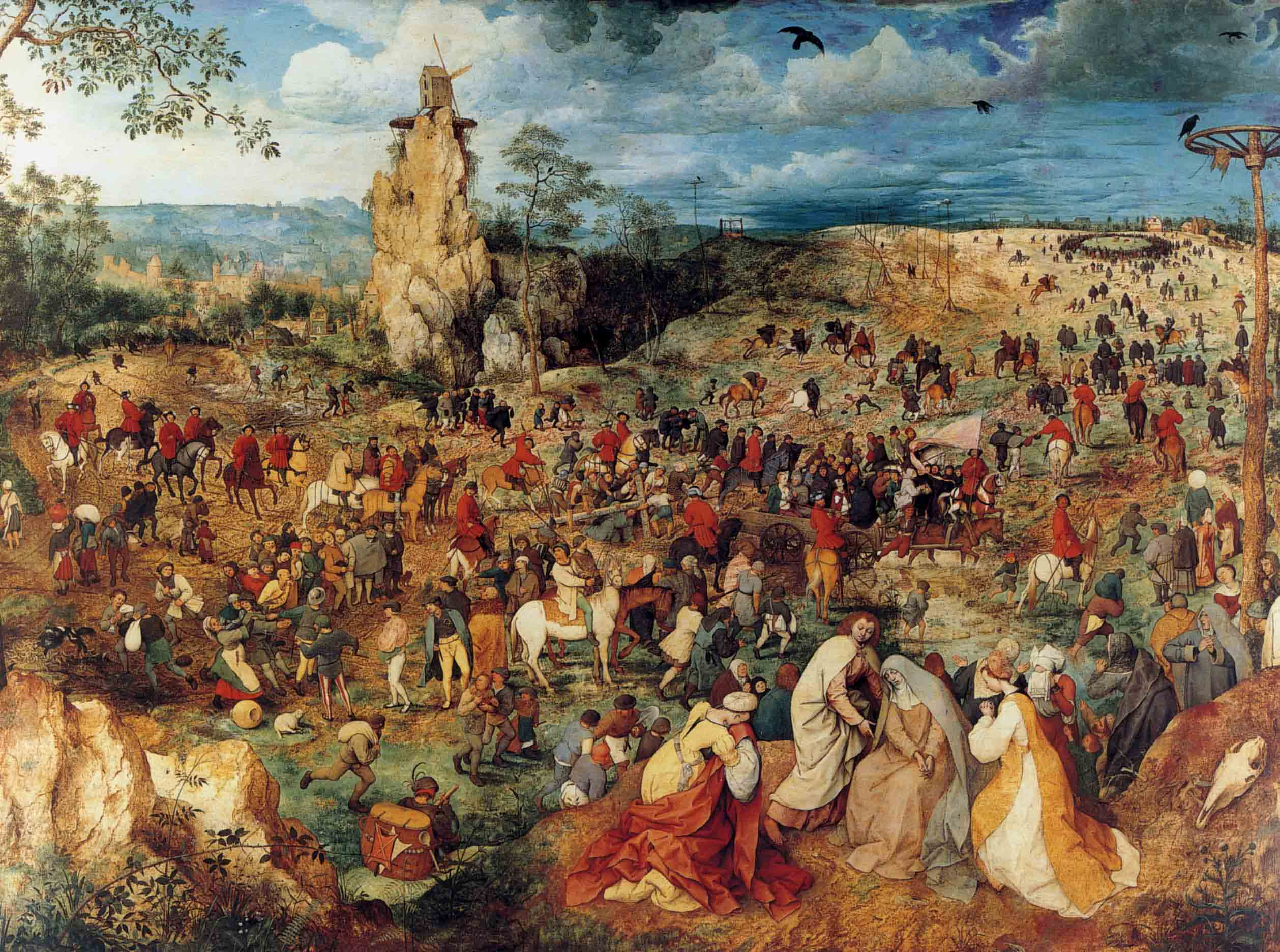 Le Portement de croix de Bruegel l'Ancien