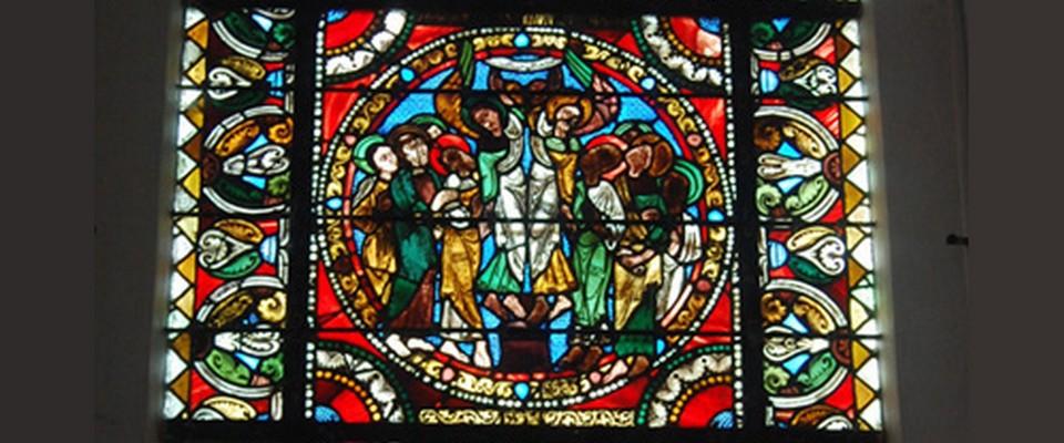 Vitrail de l'église de Champ-près-Froges