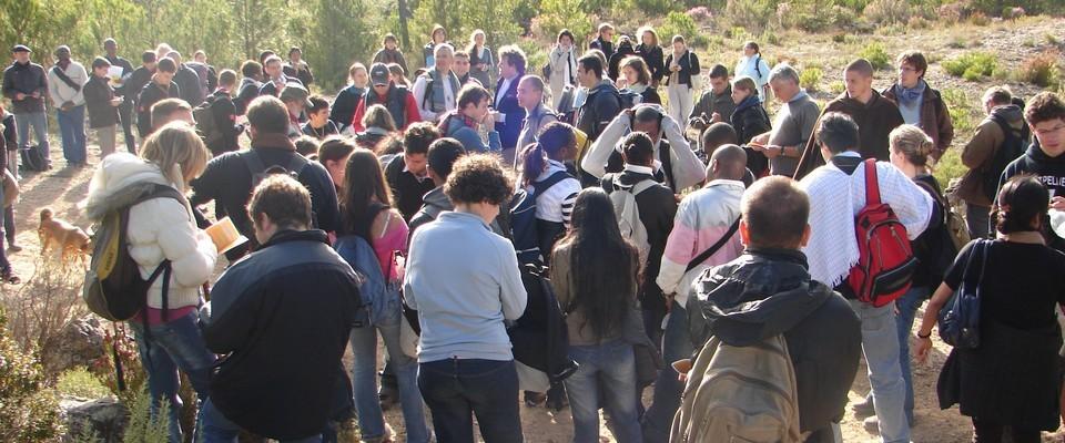 Pèlerinage d'une aumônerie étudiante