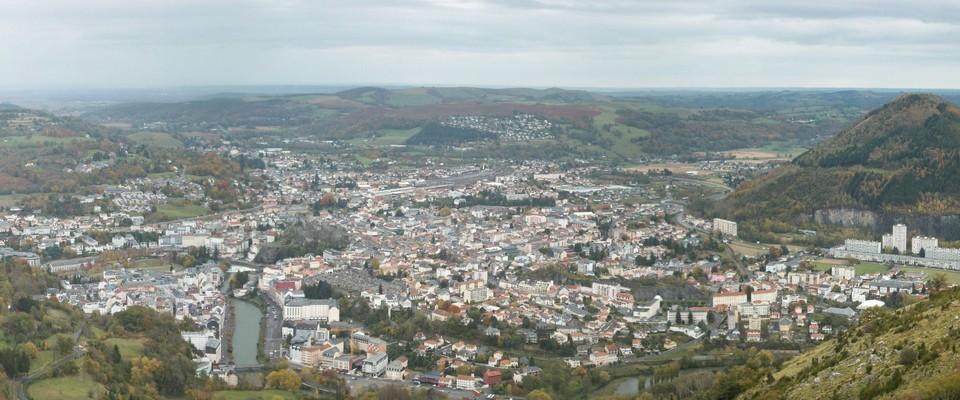 Lourdes vue du Béout