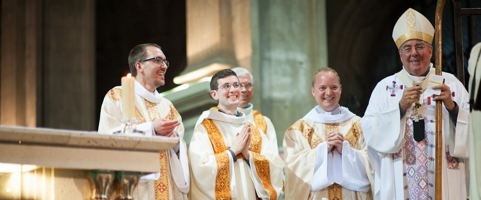 Ordination de François