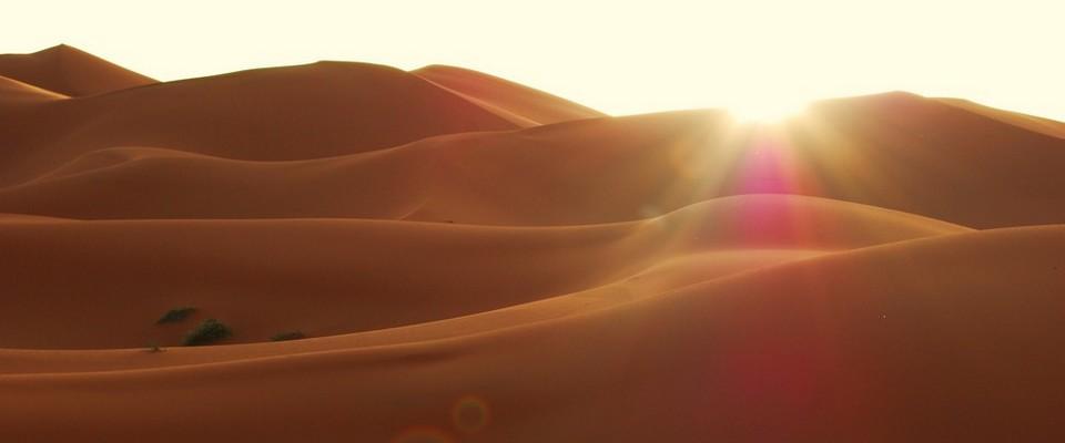 Lever du Soleil - Dunes de Merzouga - Erg Chebbi