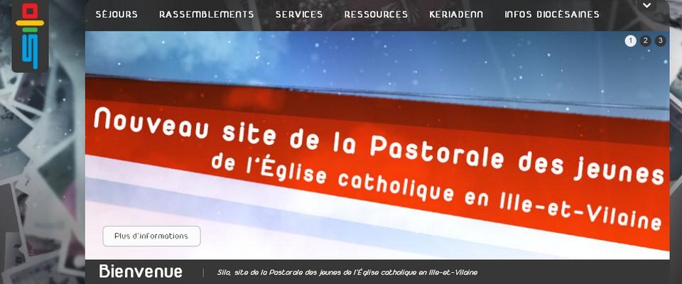 Site de Silo - pastorale des jeunes du diocèse de Rennes