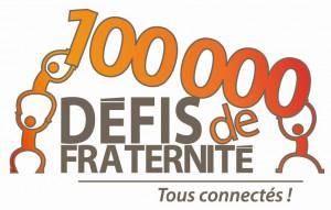 Logo des 100 000 défis de fraternité