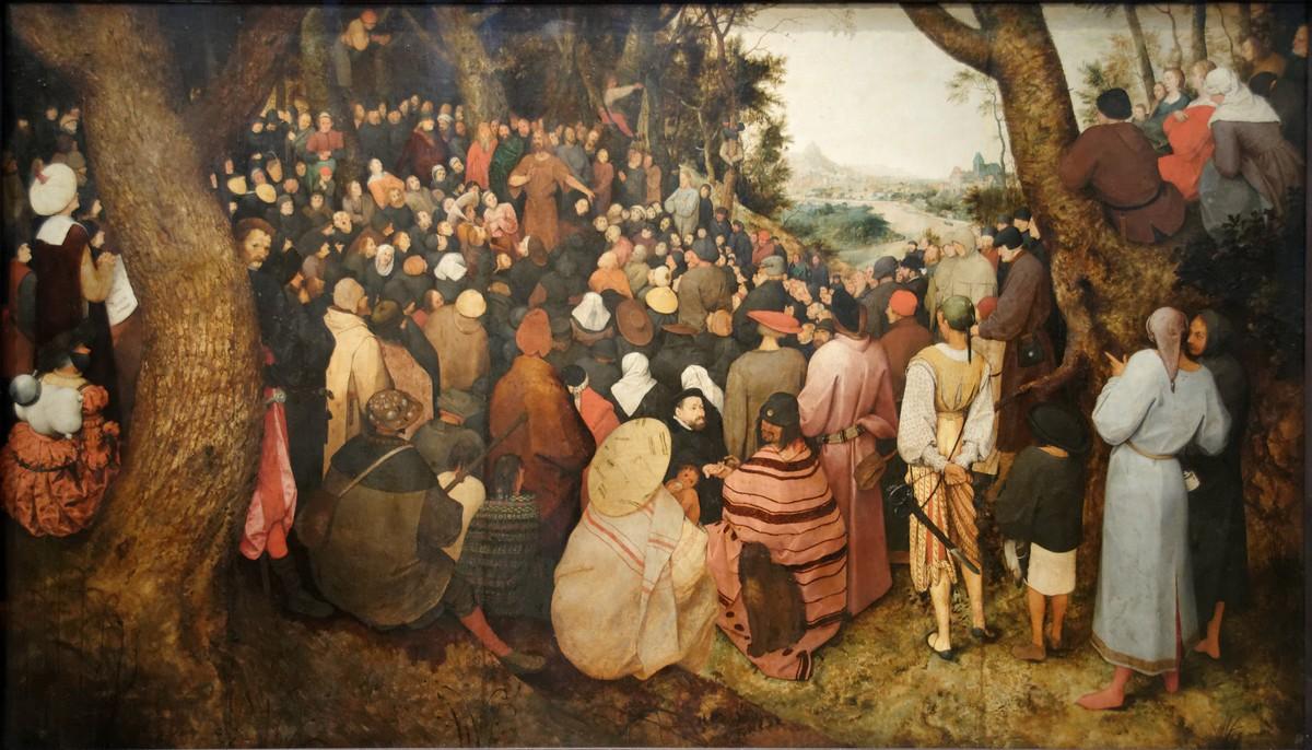 Brueghel l'Ancien - La Prédication de Saint Jean-Baptiste