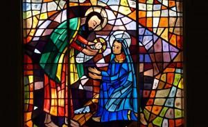 Vitrail de la Nativité