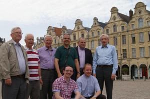 Equipe des prêtres du diocèse de Cambrai