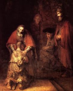 Le fils prodigue de Rembrandt