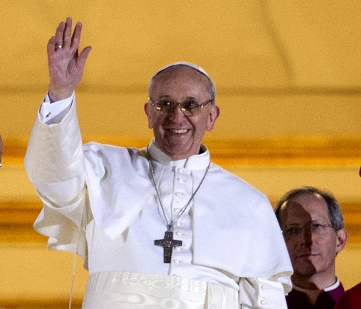 Apparition du pape FRANCOIS, card. Jorge Mario BERGOGLIO