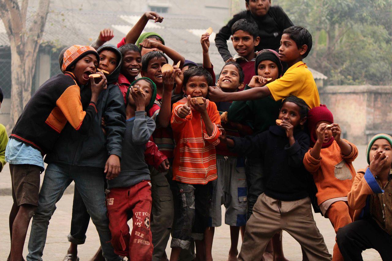 Enfants de Calcutta