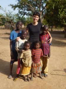 Tchad - Claire et les enfants