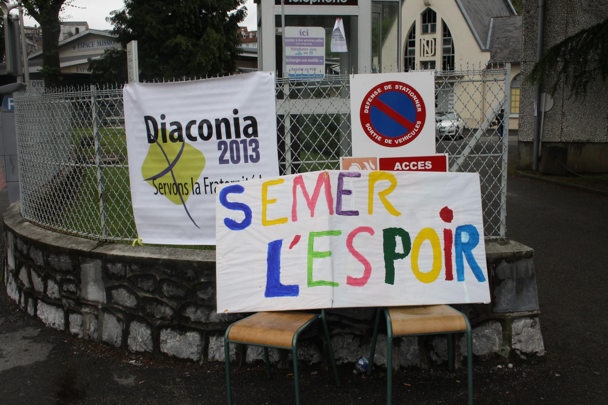 Diaconia 2013 - Semer l'espoir