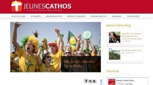Screen site Jeunes Cathos