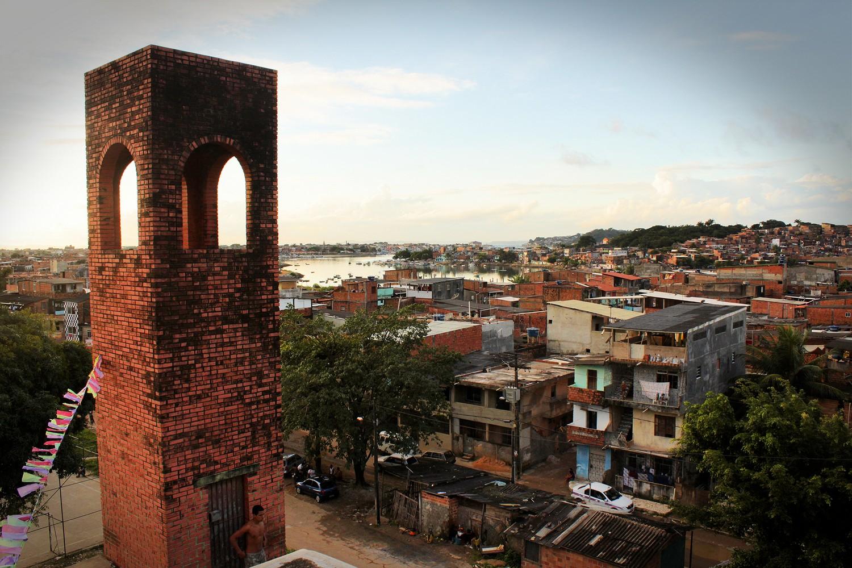 favela des Alagados, en périphérie de Salvador de Bahia