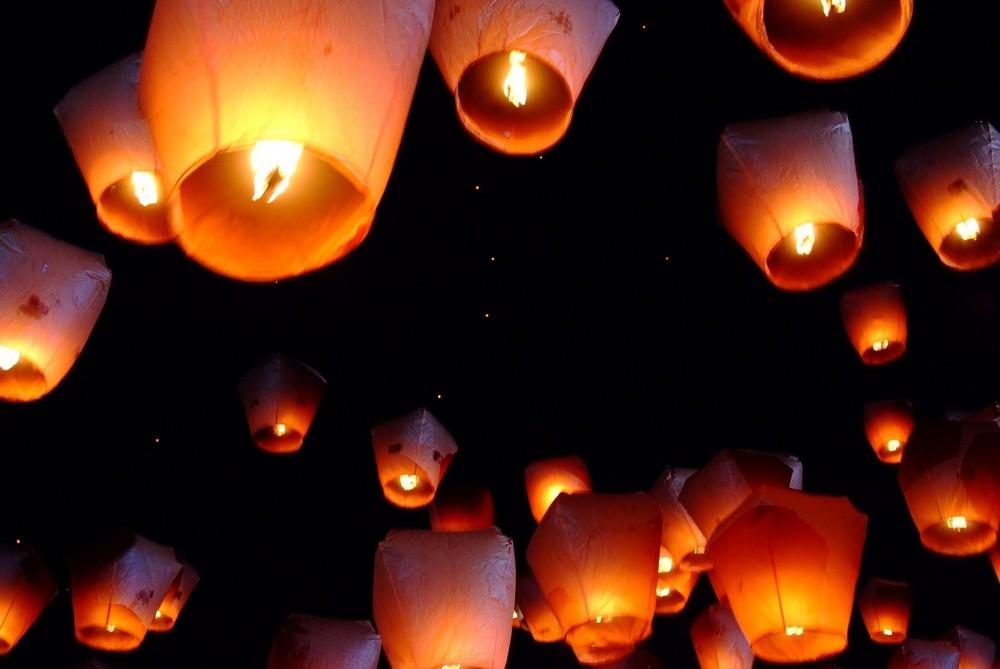 Lanternes thailandaises