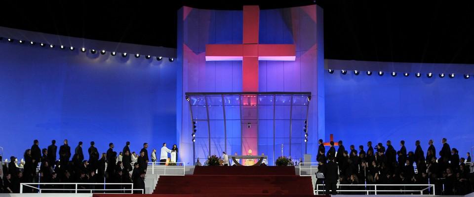 Messe d'ouverture des JMJ Rio 2013 - blog