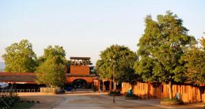 La cour centrale de Taizé