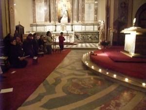 Veillée de Prière VIP - 16 janvier 2009 - St Joseph des Carmes