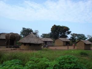 Cases de village ou quartier