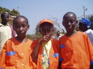 Enfants musulmans de l'école