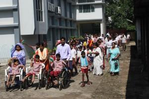 défilé indépendance handicapé inde