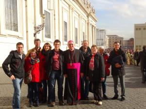 MRJC et Cardinal Etchegaray