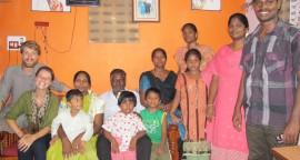 famille Hindou Inde Madras