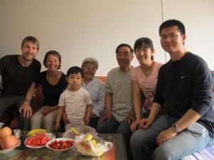 famille catholique chinoise Pékin