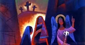 Femmes au tombeau - bandeau