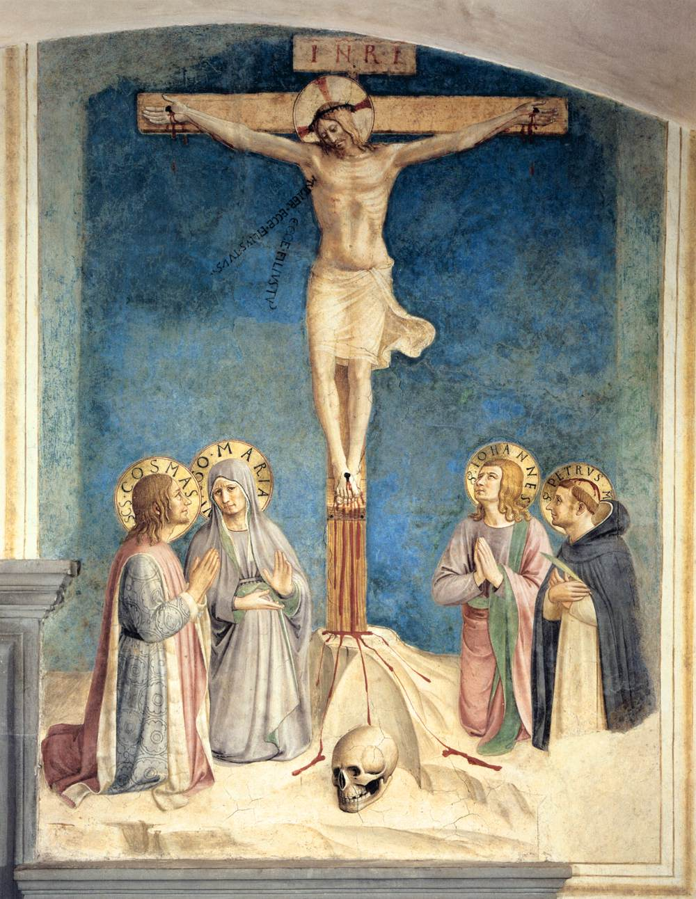 La Crucifixion, Fra Angelico, 1441-1442