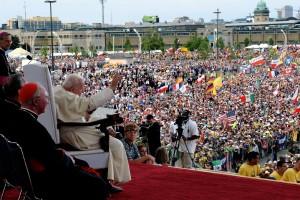Jean-Paul II lors des JMJ de Toronto - Ciric - CPP