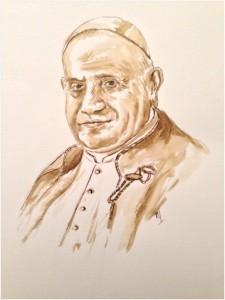 Jean-XXIII - dessin
