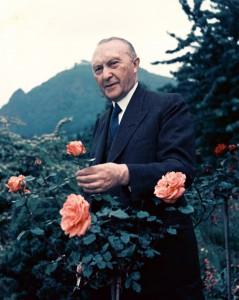 Bundeskanzler Konrad Adenauer 1949