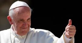 Pape François joie