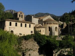 Saint Guilhem-le-Désert  abbaye