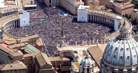 Vue aérienne de Rome