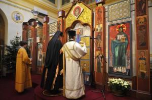 Messe orthodoxe en la Cath. Ukrainienne Saint Vladimir le Grand à Paris