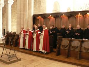 Saint Benoît sur Loire - prière
