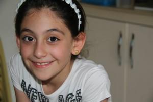 Lourdes - enfant chrétien irakien
