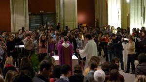 """Le """"voeu de Montmartre"""" à l'origine de la création de la Compagnie de Jésus."""
