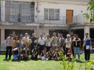 camp chrétiens irakiens dei maryam